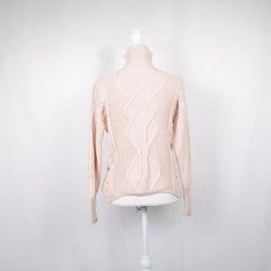 RACHEL Rachel Roy Sweaters - Rachel Roy Chunky Cable-Knit Sweater, Pink, S/XL